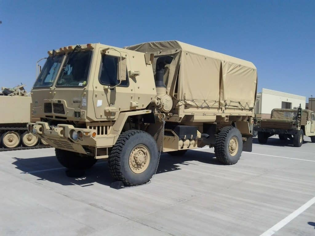 military truck - Truck driver shortage - trucking insurance