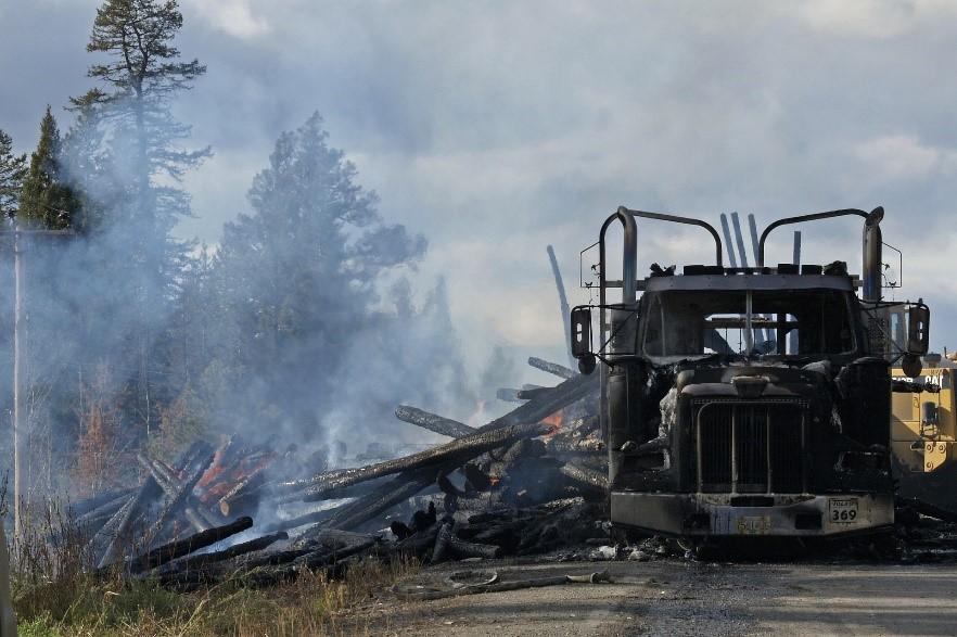 Truck Accident  - Trucker Safety - Truck Insurance